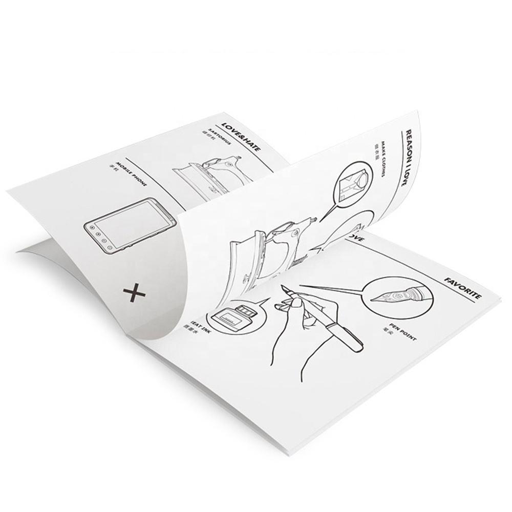 Manual Da Máquina De Impressão de Folhetos do Negócio barato Dobrável