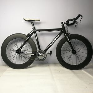 Synergy Full Carbon Fiber Track Frame And Wheel Set Bicycle Single Speed Wheels High Performance 700C Fixed Gear Bike