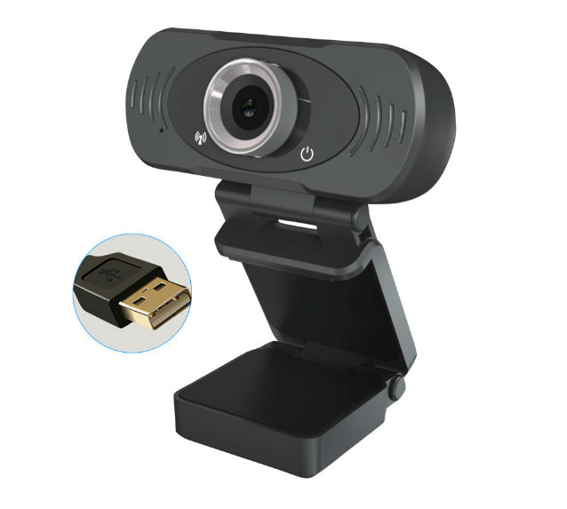 build in dual microphone usb camera HD 1080P webcam