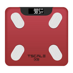 Bluetooth Body Weight Fat Water BMI BMR Muscle Mass Display Digital Scale 180KG With IOS And Android APP