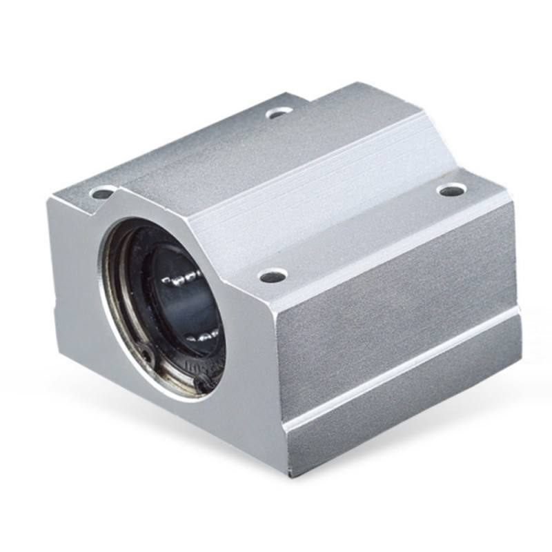 Hot Fixed aluminum6061 linear slide ball bearing block for CNC linear guide rail unit