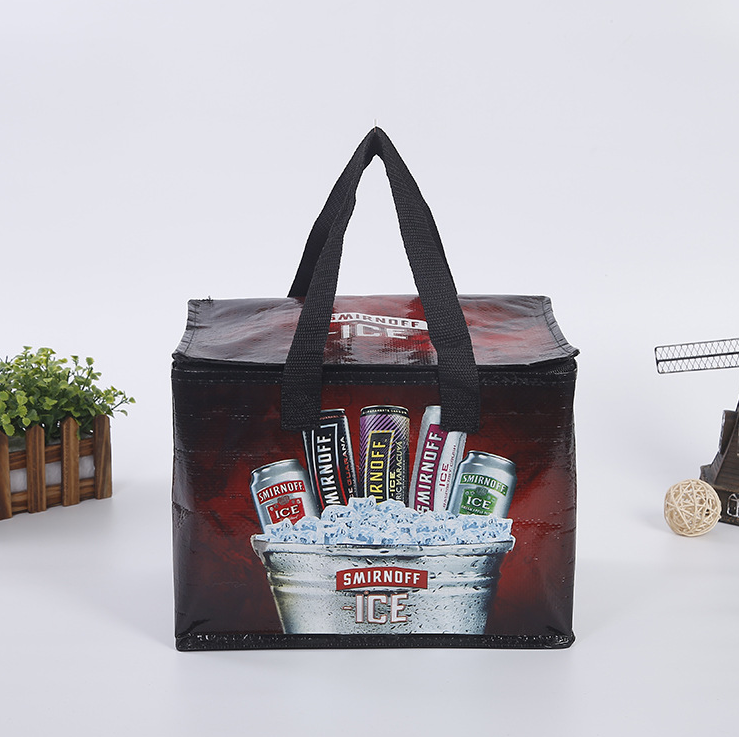 Fashion Cool Shopping Tote Bag China Factory Cheap Small Cooler Bags