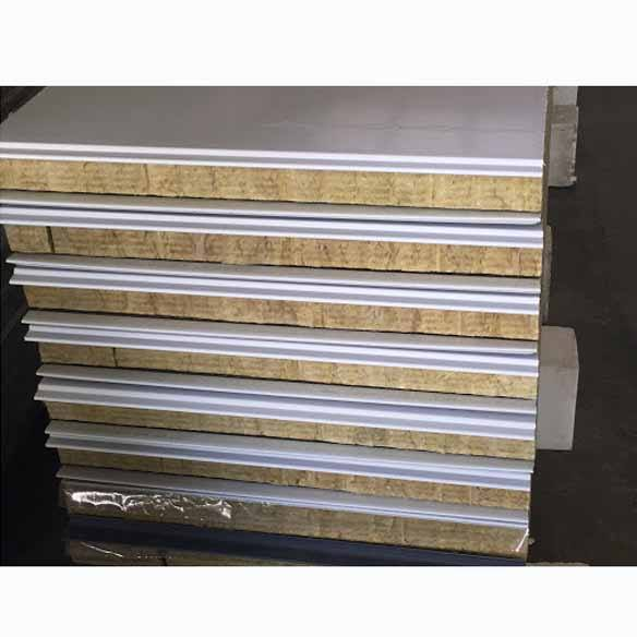 rockwool sandwich panels thermal insulation fireproof foam board removable wall panels