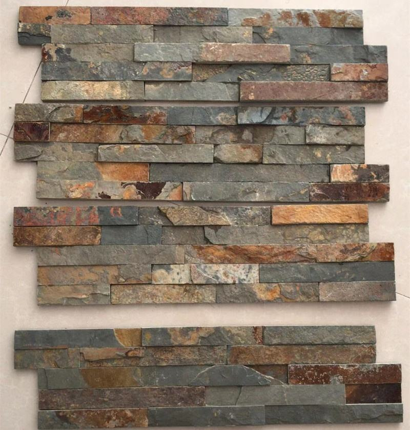 popular sale natural veneer stone panel veneer wall cladding