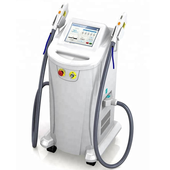 Hot&Professional beauty salon Beauty equipment IPL fast hair removal+elight+ RF +laser Multifunctional SHR IPL hair removal