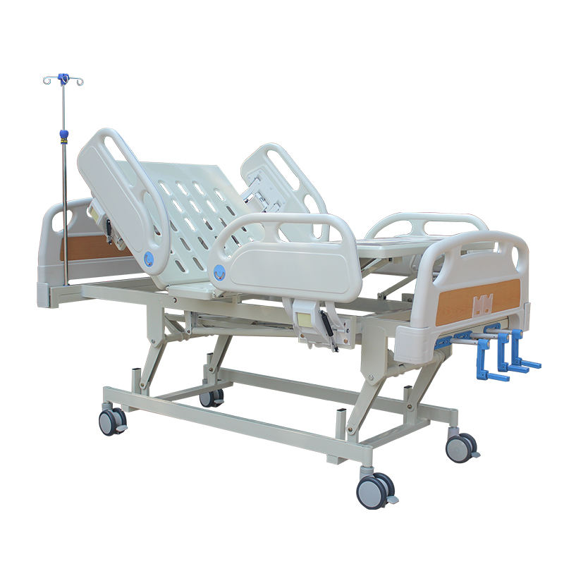 Nursing bed ABS Three crank electric hospital bed Manual with cheap price