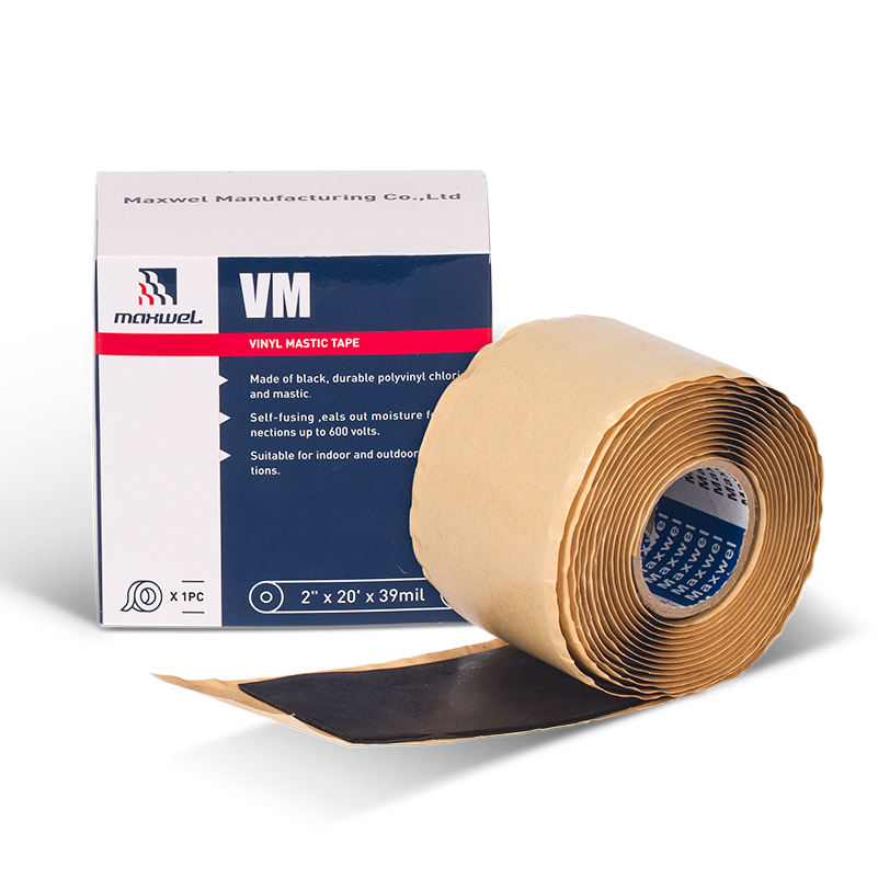Butyl Rubber Electrical Insulation Vinyl Mastic Moisture Proof Tape