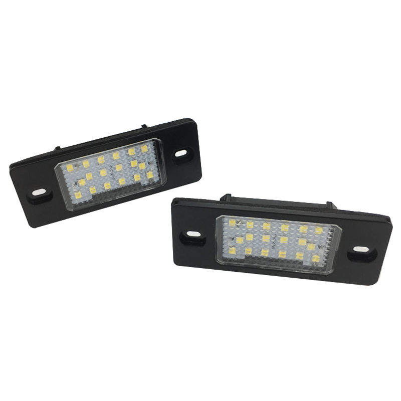 Ailead High Quality Clear LED License Plate Lamp For PORSCHE Cayenne s/VW Touareg