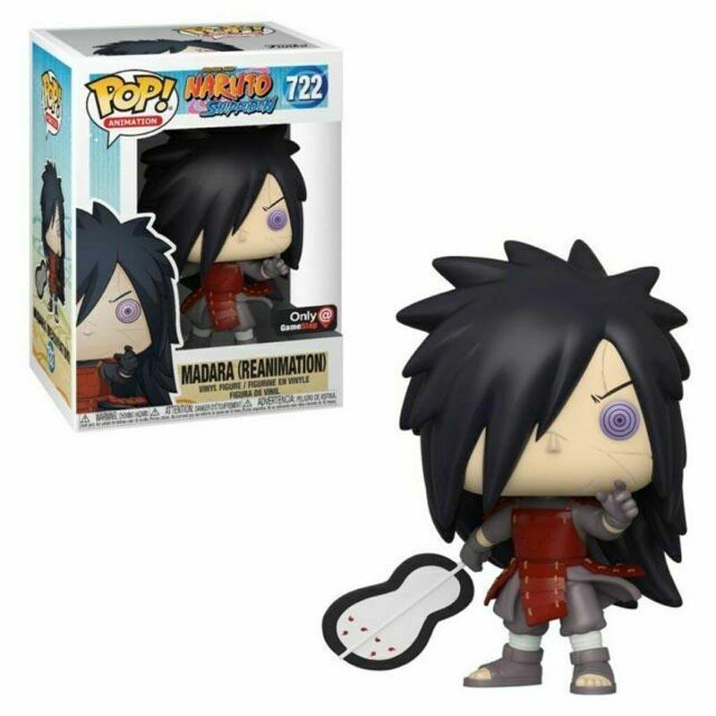 Funko Pop #722 Naruto Uchiha Madara Action Figure Collectible Model Toys