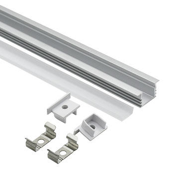 Aluminium Profile For Led Strips 1612A Led Profile Tile In Wall And Ceiling Aluminum Alloy Extrusion Profile Led Corner Profiles