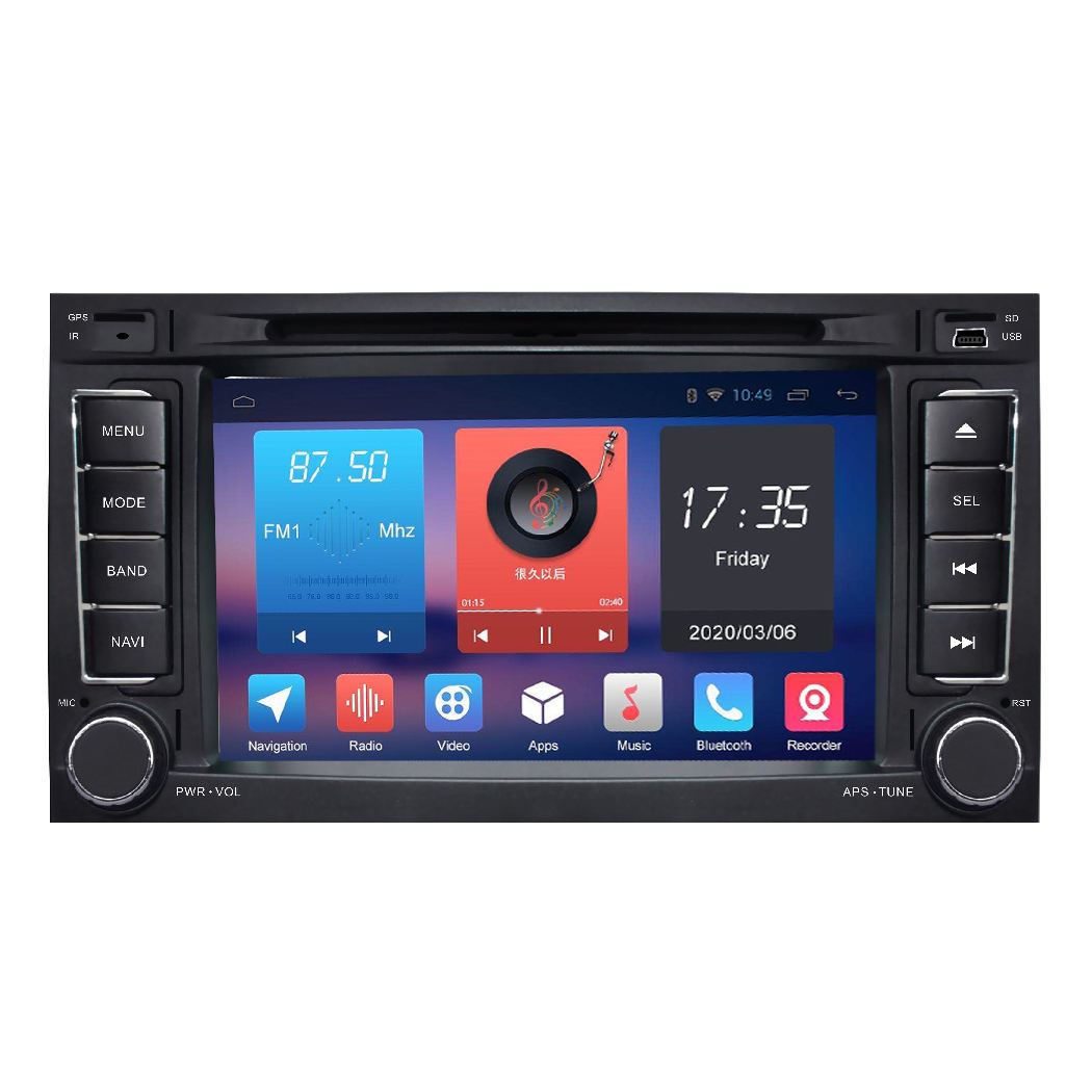Android 10,0 auto DVD radio audio GPS navigation für <span class=keywords><strong>VW</strong></span> Touareg 2002 2003 2004 2005 2007 <span class=keywords><strong>2008</strong></span> 2009 mit dvd player 4G BT video
