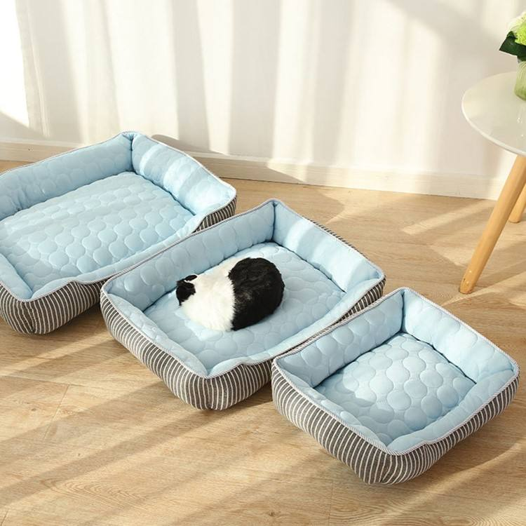 Fashion Pet kennel Summer Cold Feeling Cat Summer Supplies Ice Silk Pet Kennel