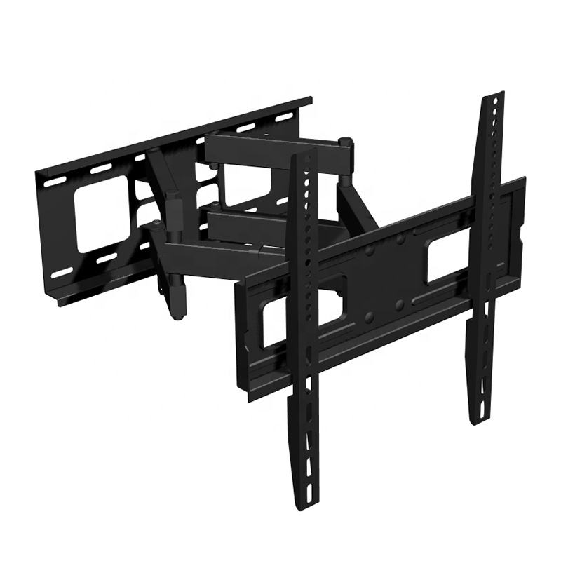 "Heavy Duty Lcd Tv Wall Mount Bracket , Dual Arm Articulating Curved TV Mount Holder for 23""-56"" TVs"