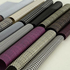 DERFLEX pvc coated mesh fabric for curtain fabric