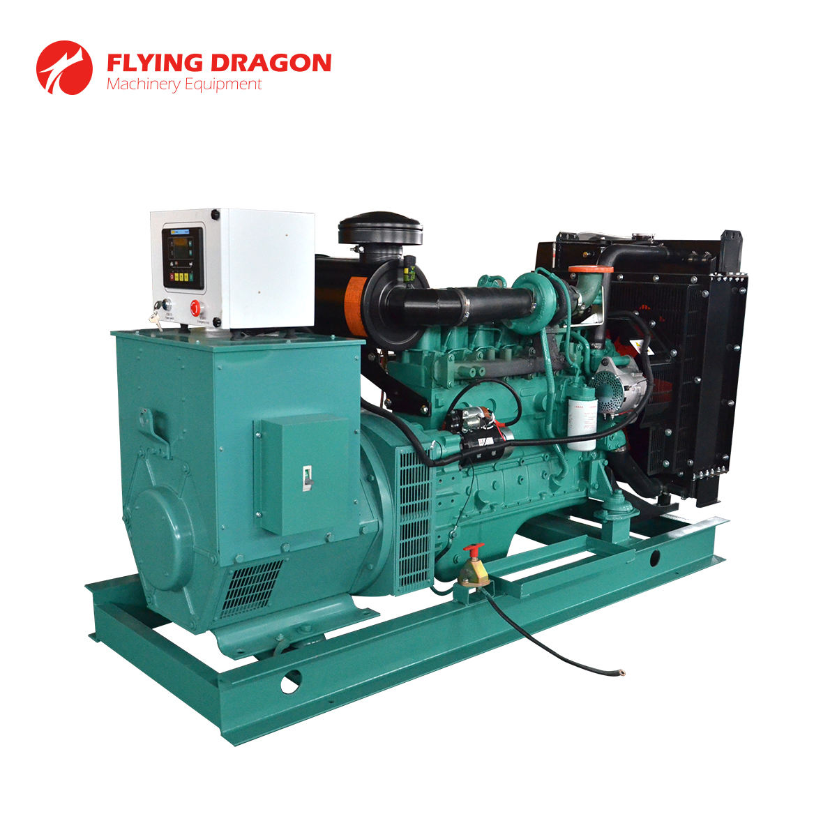Backup power plant for tropical city use 90kva silent electric generator for sale with Cummins 6BT5.9-G1