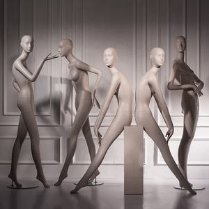 display dummy Mannequins female for Sale, full body, Abstract, From MDF mannequin Manufacturer MDF2013