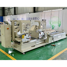 Aluminum Profile Window Double Head Cutting Mitre Saw Machine