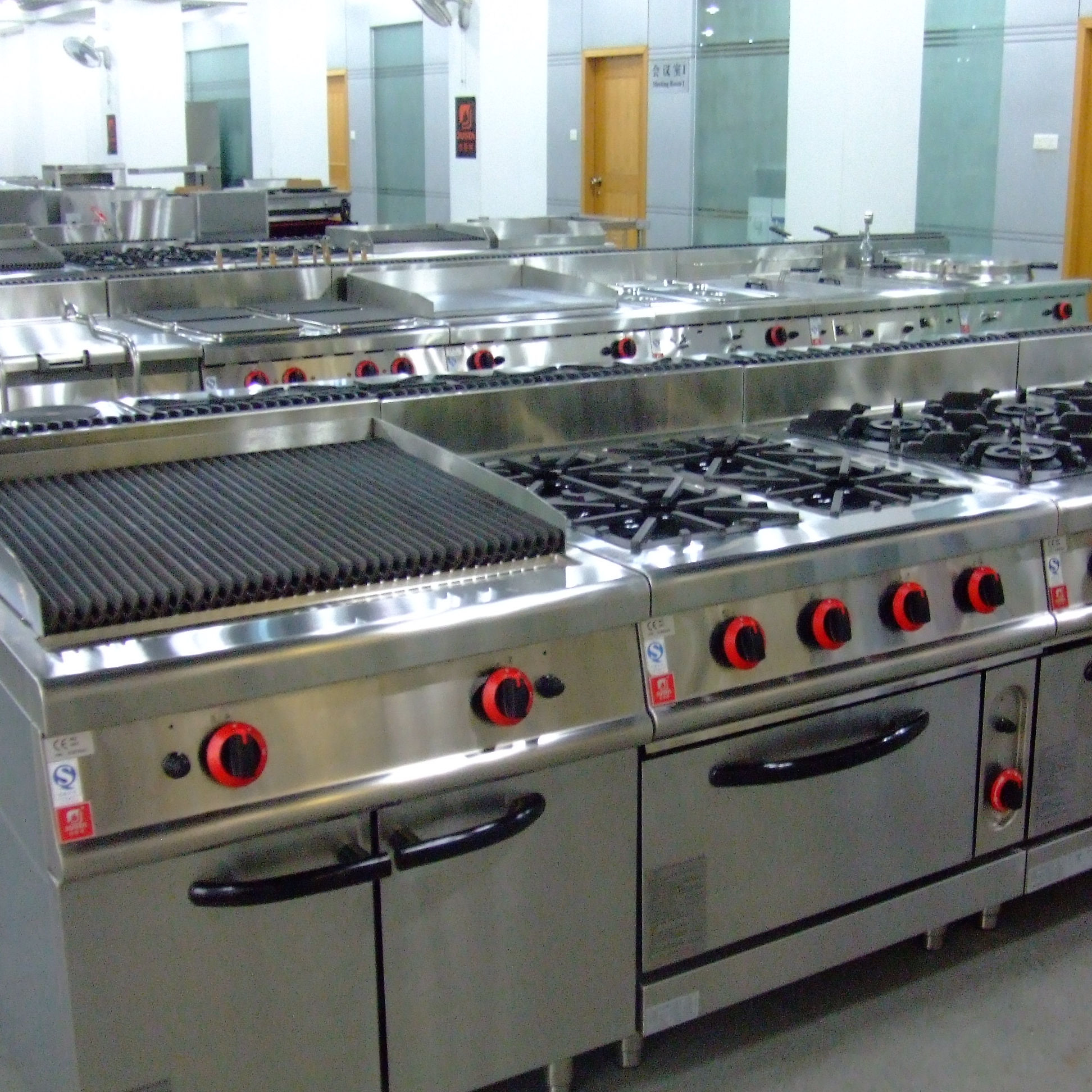 Commercial Hotel Kitchen Project Commercial western cooking kitchen equipment design and restaurant kitchen project