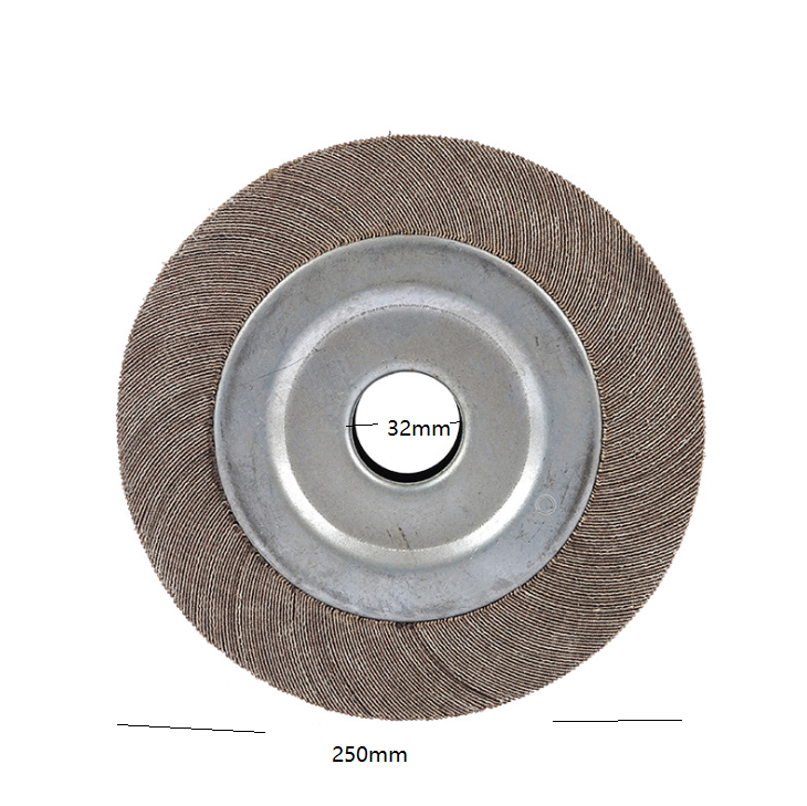 125*25 Stainless steel grinding wheel flap wheel chuck buffing flap wheel