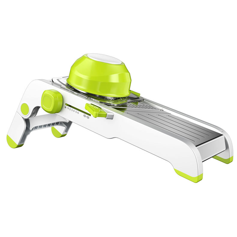 new arrival 2020 amazon Mandoline Slicer Manual Stainless Steel Blade Adjustable Vegetable Onion Potato Slicer Food Kitchen Tool