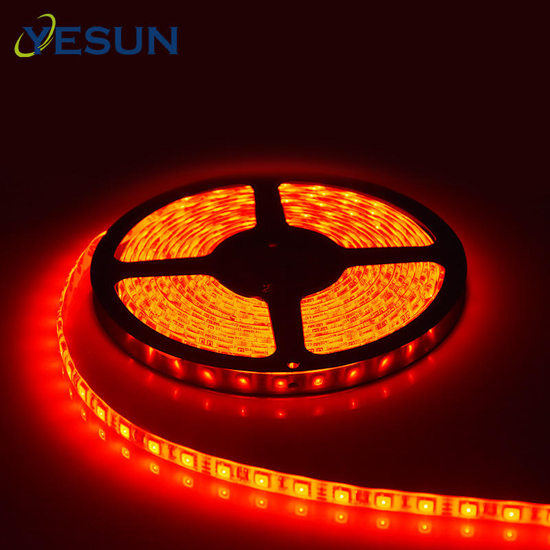 Super bright high power rgb led light strip 5m 12 v waterproof smd 5050 60 leds