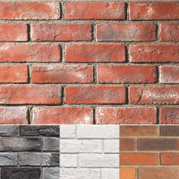 New design 3D eco-friendly wall brick for exterior decoration