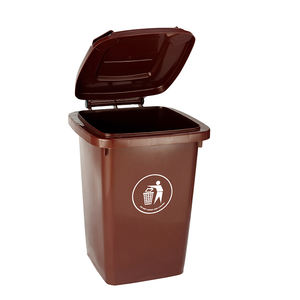Household mobile waste bin waste container