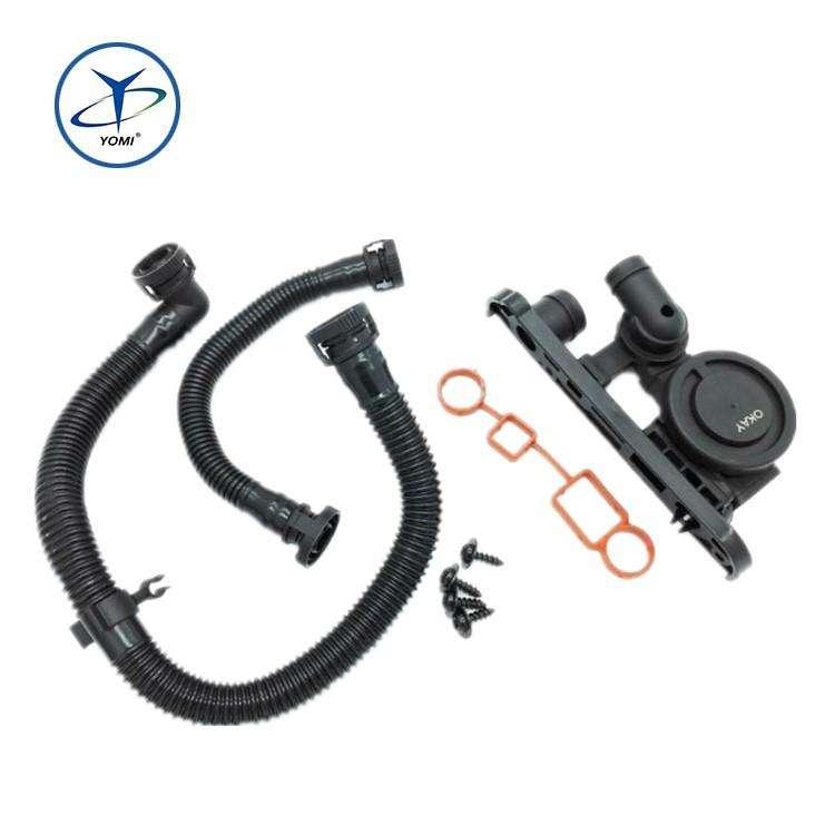 PCV CRANKCASE VENT VALVE BREATHER HOSE KIT New For BMW E46 E39 325-11617504535