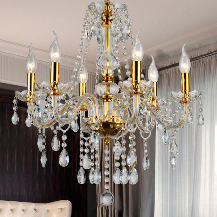 French Bohemia Bangkok Baccarat Cognac Hotels Wedding Crystal Ceiling Led Cristal Chandelier Glass Centerpiece Decorative Light
