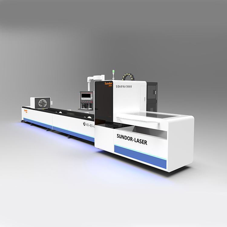 Promotion 3000w Cut Tube 1000w 2000w CNC Tube Fiber Metal Laser Cutting Machine For Metal Steel Pipe