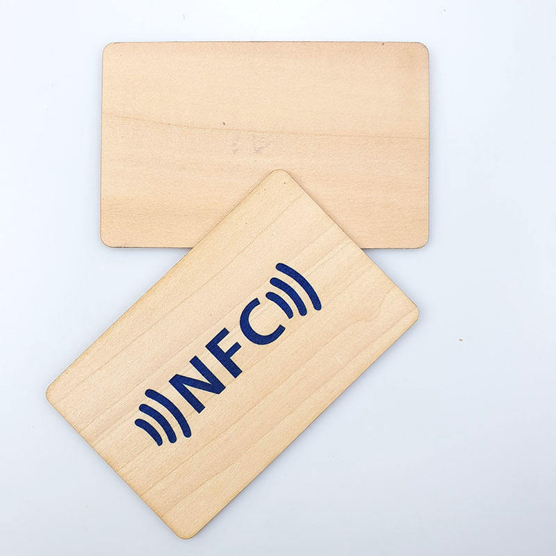 Umweltfreundliche Standard Recycelbar NFC Business Holz carving hotel locking rfid smart card