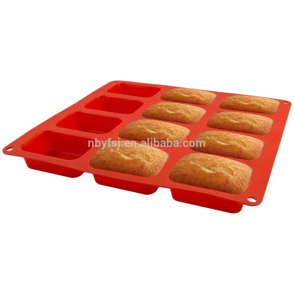 YJ Non Stick Silicone Bakeware Cupcakes For Muffins And Brownies