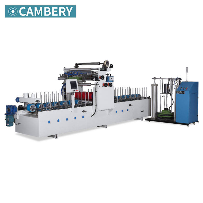 Wholesale door casing wood mdf pvc wrapping machine aluminum profile wrapping lamination machine with PUR hotmelt glue