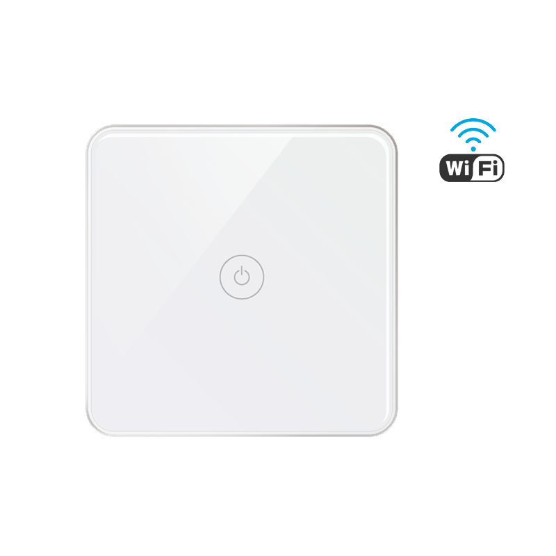 Smart Home Automation 1Gang Wifi Wall Switch Non Neutral Wire work with Smart Home System support Alexa Google Home