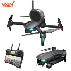 Global Drone With HD Camera and GPS Drone 2 Axis Gimbal GD91 Pro with Camera 1080P 4K Auto Follow Auto Return One Key Follow Me