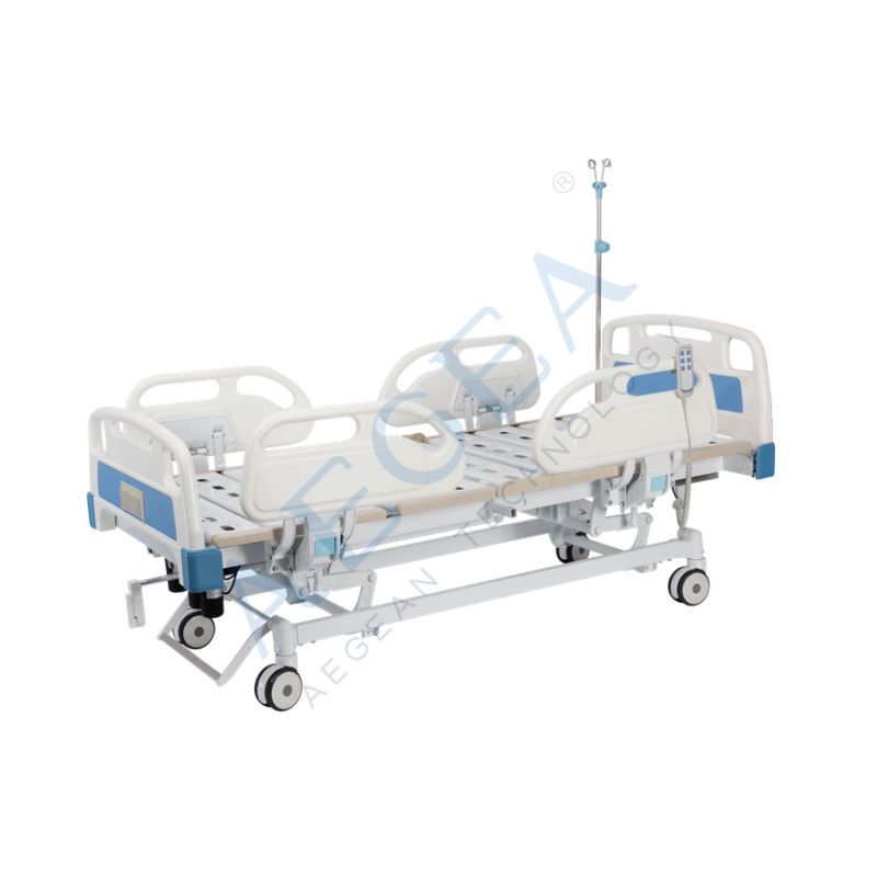 AG-BY104 medical ward furniture both electric and manual control hospital bed companies wholesale suppliers