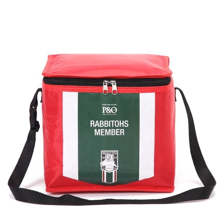 Wholesale OEM Custom printing insulated cooler bag waterproof and reusablable picnic bag