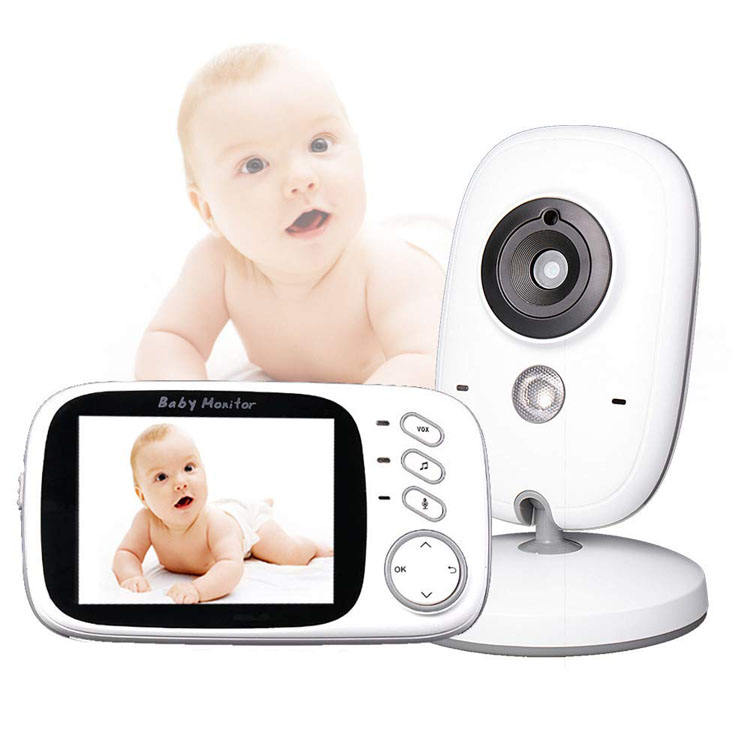 Monitor Bayi 3.2 Inci Video Digital Nirkabel Monitor Foon Pintar Kamera BS-VB603