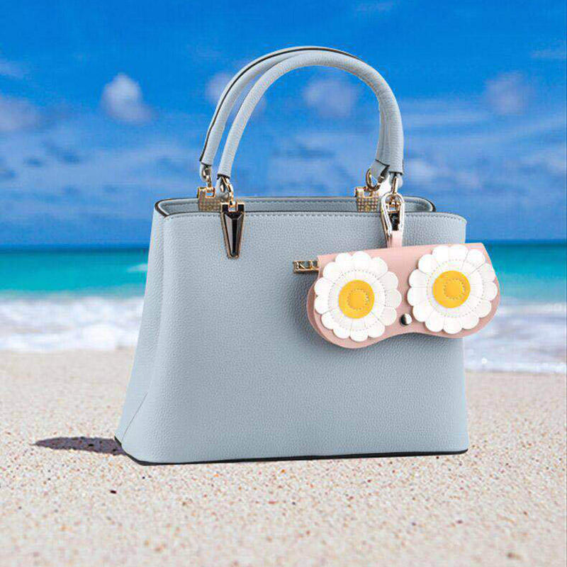 Hot sale sunglasses bag portable fashion glasses case cute sun glasses protective cover female eyeglasses accessories