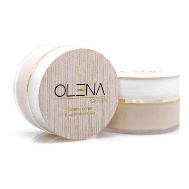 Highest quality Body Cream 100 ml 100% natural product with olive oil poliphenols. Anti-aging. Bio Cosmetic Made in Italy
