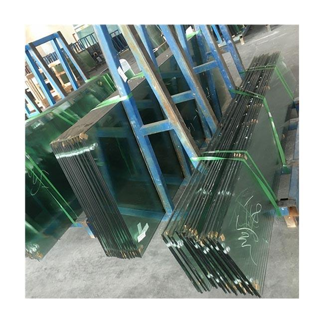 Guangdong Fast delivery 3mm 4mm 5mm 6mm 8mm 10mm 12mm 15mm 19mm thick tempered toughened flat safety building glass