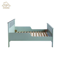 Customizable children kids bed wooden furniture baby crib cot bed