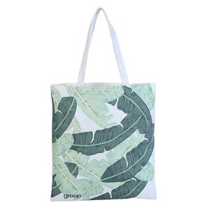 Factory Direct Colorful Printed log Canvas Shopping Bags Tote Handle Bag Made to order