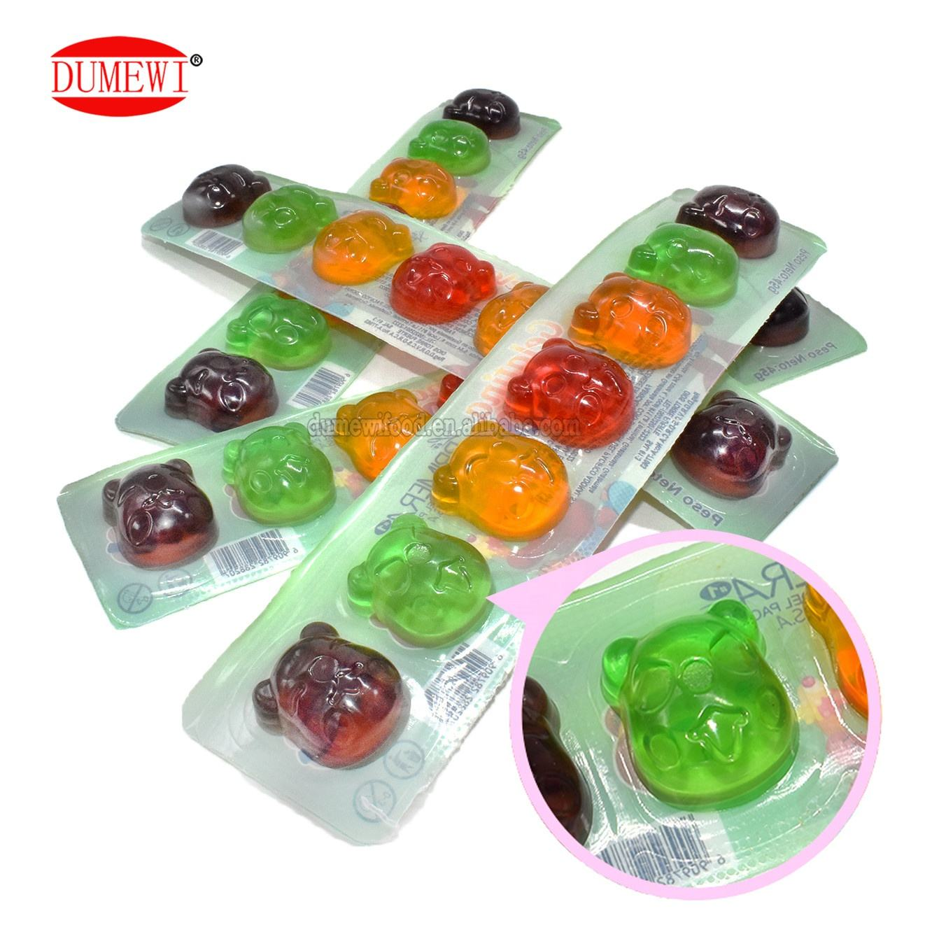 colorful mini jelly cup jelly pudding 7 in one piece fruit jelly