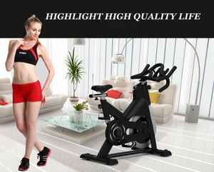 China wholesale fitness spin sports equipment professional exercise magnetic bike flywheel protection bikes de spinning