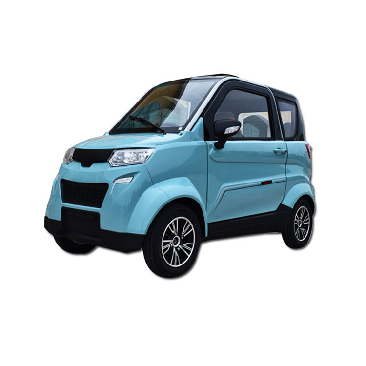 Full Speed Ce Approved Two Person Electric Car 2 Seater Dfh Mini Electric Patrol Car Shenzhen