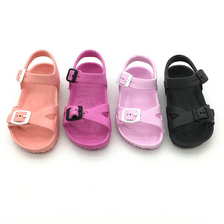Sandalias outdoor summer children EVA slide slippers kid sandals