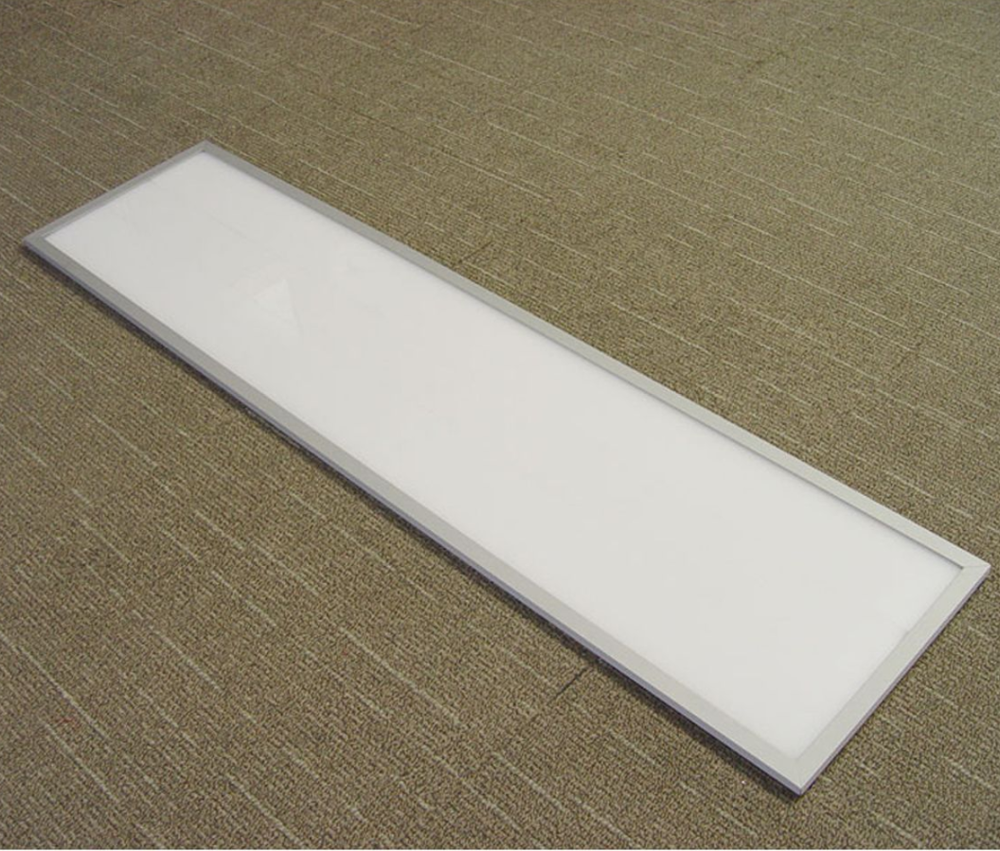 Factory hot sell led panel light White/Silver Frame Suspended Ceiling Recessed LED Panel Light 120lm/w 300X1200