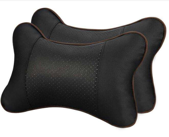 XMB Breathable Auto Cushion Relax Lumbar Support Headrest Car Neck Pillow for Travel neck pain
