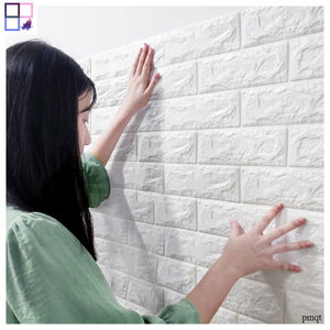 Water proof sound insulation foam sticker 3d brick Wallpapers for Home Decoration